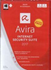 Avira Internet Security Suite 2017 - Software - PC - Neu / OVP