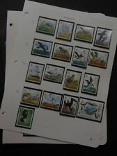 ASCENSION : Beautiful collection. All VF MNH except where marked. Birds Cat $210