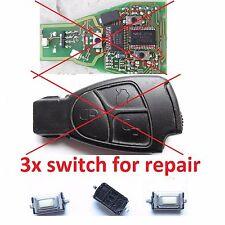 3 micro switch for repair remote alarm key fob MERCEDES W168 W202 W203 W208 W210