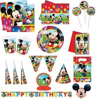 MICKEY MOUSE CLUBHOUSE PARTY TIME Kids Party Decoration BIRTHDAY Party