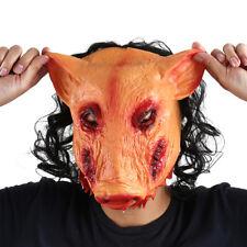 NAVE Halloween Film Horror Saw Maiale Maschera Latex Face Festa Cosplay Prop