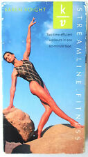 Karen Voight Streamline Fitness VHS Tape 2 Workouts 60 Minutes Time Efficient