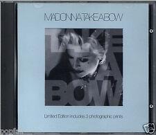 MADONNA - TAKE A BOW 1994 UK LIMITED EDITION CD SINGLE MAVERICK SIRE W0278CDX