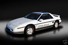 1984 Pontiac Fiero Indy 500 Pace Car, Refrigerator Magnet, 40 MIL