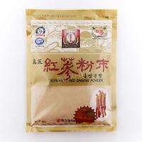 300g(10.6oz),100% Korean Red Ginseng Roots Powder, No Additives, Saponin