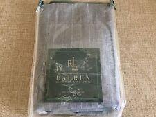 Ralph Lauren Speed & Style Striped Grey/White Standard Sham Retired Rare 1stQ