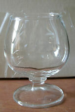 CLEAR 6OZ FOOTED/STEMED BRANDY/ BEVERAGE GLASS