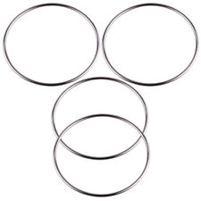 4Pcs Magic Chinese Linking Rings Set Lock Kids Party School Show Stage Trick Fun