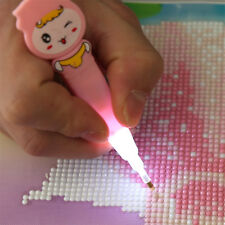 Tools 5D Rhinestone Painting Diamond Stitch Pen LED Light Embroidery Stich IROSE