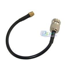 20cm N female jack to SMA male Antenna WLAN Coax Pigtail Jumper LMR195 Cable 8in