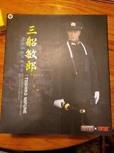 3R Action Figure Toshiro Mifune WW11 Commander Chief Combined Fleet Winter Cloth