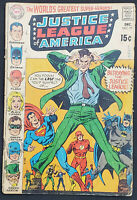 Justice League of America #77 VG 4.0 Silver Age Classic 1969 DC Comics Vintage