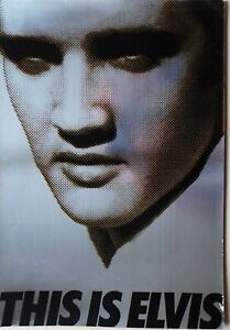This Is Elvis 1981 Elvis Presley Original US Trade Ad