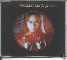 enigma - mea culpa part 2  german  cd single  rare