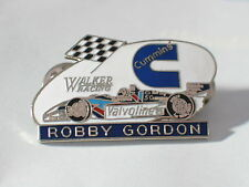 Walker Team Racing Pin, Robby Gordon Race Car Driver Cummins Pin, Valvoline,(**)