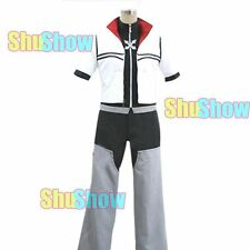 Kingdom Hearts 2 Roxas Cosplay halloween Costume any size Accessory Overcoat