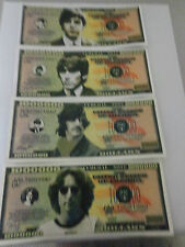 Beatles Money, Paul McCartney, John Lennon, George Harrison, Ringo Starr Dollars