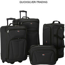 American Tourister Fieldbrook II 4 Pc Nested Set - Black
