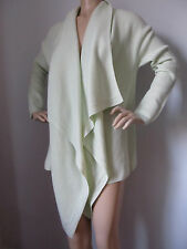 BRAND NEW ST JOHN KNIT SIZE XL WOMENS CASHMERE SWEATER WRAP  MINT GREEN