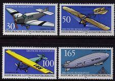 Germany 1991 Historical Airmail Aircraft SG 2357-2360 MNH