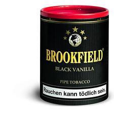 5x Brookfield Black Vanilla 200 g Pfeifentabak / Brookfield No. 2 in neuer Ds.