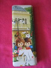 KUTSUWA Made in Japan Pencil Case Vintage Collectible Used 1975