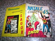 ZAGOR ZENITH N.105 ORIGINALE DEL 1969 BUONO TIPO TEX MARK ARALDO DOG RANGER