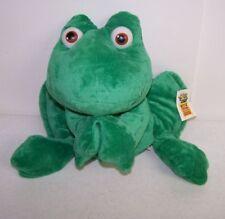 """12"""" Hoppity Cute Green Frog Plush Doll Toy w/ Tag"""
