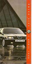 ALFA ROMEO  PRICE LIST April 1995, 145, 155, 164       *POST FREE UK *