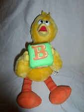 "Sesame Street Big Bird B Block 14"" Plush Soft Toy Stuffed Animal"
