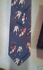 100% silk  Football   Neck Tie by  Class Club