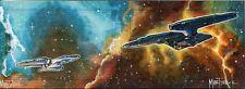 Star Trek Beyond Dual Panel Sketch Card By Warren Martineck - Ultra Rare