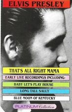 Elvis Presley That's All Right Mama ~ Platinum Collection (Cassette)