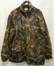 VTG 10X Camouflage Camo Hunting Coat Jacket Men's Sz M