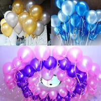 20/60PCS Colorful Pearl Latex Balloon Wedding Birthday Ballons Party Decoration