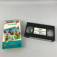 Kidsongs Lets Play Ball VHS Tape Rare Fast Free Shipping Sing A Long Childrens