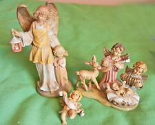 Vintage Fontanini and Simonetti angel figures, Italy