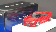 Car Model AUTOART 1:18 Toyota GT86 Rocket Bunny (Red/Silver Wheels) + GIFT!!!!