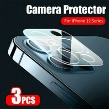 3Pc For iPhone 12 Pro Max / 12 Mini Camera Lens Tempered Glass Screen Protector^