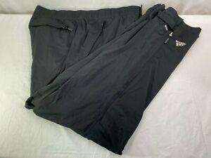 adidas Climaproof Ultimate Storm Pants Black Mens Golf Weather Rain Wind XL NWT