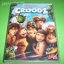 LOS CROODS DREAMWORKS DVD NUEVO Y PRECINTADO