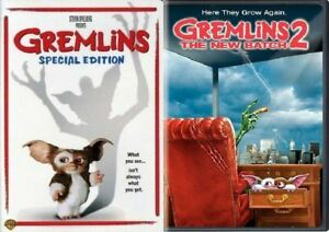 GREMLINS 1 One & GREMLINS 2 TWO THE NEW BATCH 2 DVD SET NEW