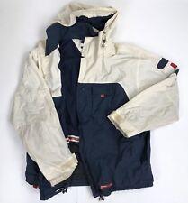 Vintage 90s Tommy Hilfiger Parka Jacket Fleece Lining Men's L-XL Flag Sailing