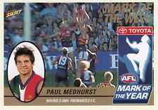 Select 2005 Tradition PAUL MEDHURST Dockers Mark of the Year card