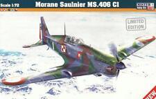 MORANE MS 406 (FRENCH, POLISH, FINNISH AF & LUFTWAFFE MKGS) 1/72 MISTERCRAFT NEW