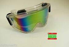 Protection Glasses Medical Dental Veterinary Lab Safety Goggles Rainbow TOSCANA