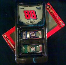 WINNER'S CIRCLE 2008 DALE EARNHARDT JR 88 NATIONAL GUARD & AMP WITH HOOD 1:64