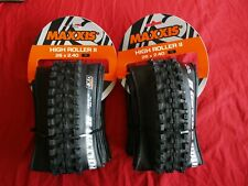 "Pair Maxxis High Roller II 26x2.4 26"" Tubeless Folding Front + Rear NEW"