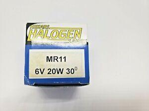 Hikari  6V 20W G4 bipin MR11 Flood 30d Halogen Reflector