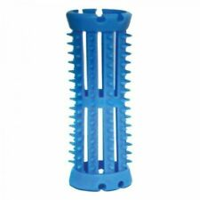 Skelox Plastic Hair Rollers Curlers 12 X 20mm Blue Pins